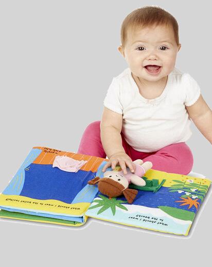 Soft Cloth Activity Books