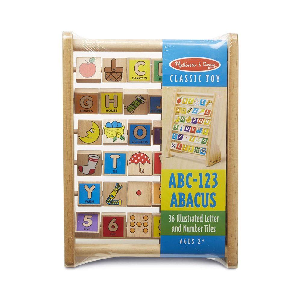 Melissa & Doug ABC-123 Abacus