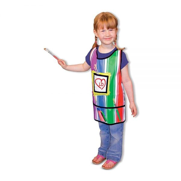 Melissa & Doug Durable Artist's Smock - One Size Fits All