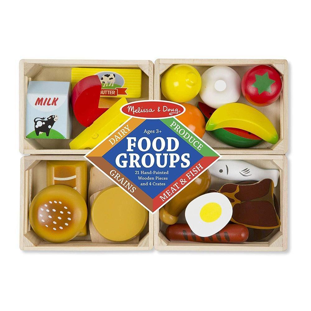 Melissa & Doug Food Groups Set