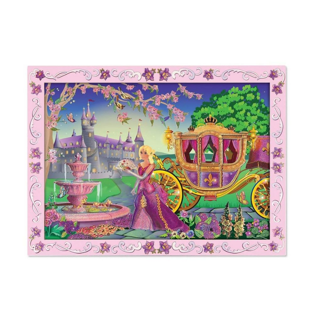 Melissa & Doug Fairytale Sticker By Number / Peel 'n Press Kit