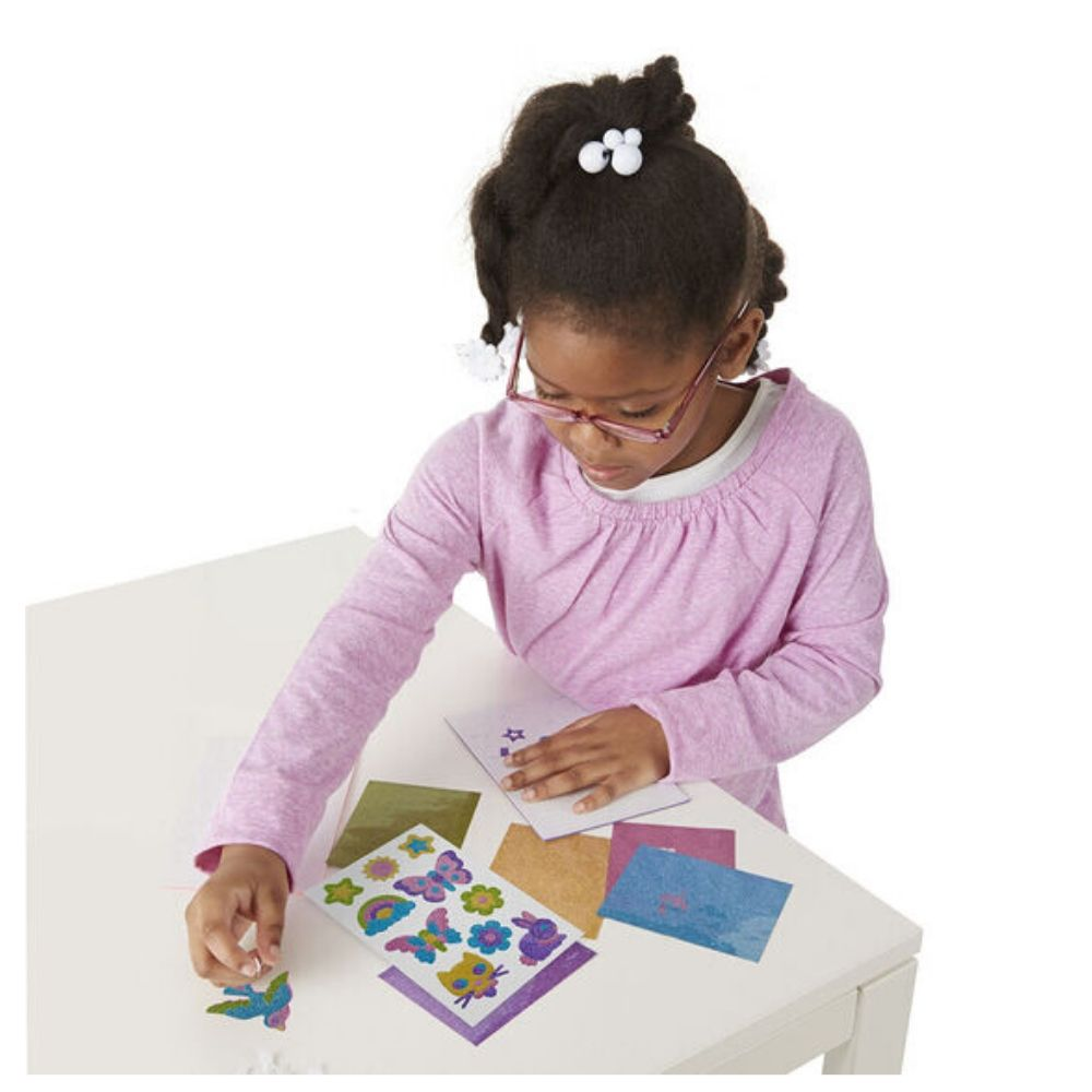 Melissa & Doug Friendship Foam Stickers - Mess Free Glitter