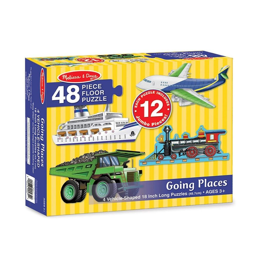 Melissa & Doug Going Places Floor Puzzle (48 pc)