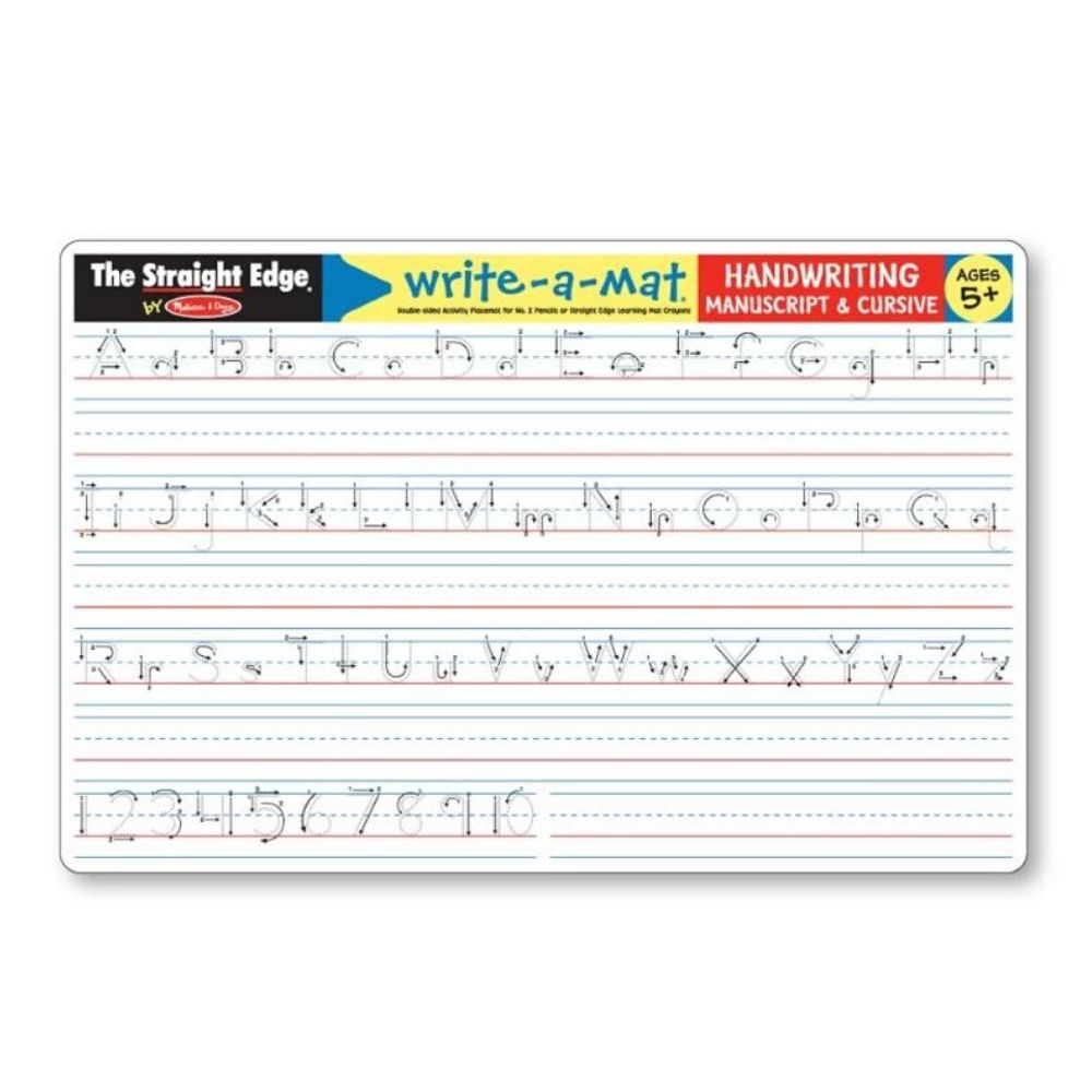 Melissa & Doug Handwriting Write-A-Mat (6 in a bundle)