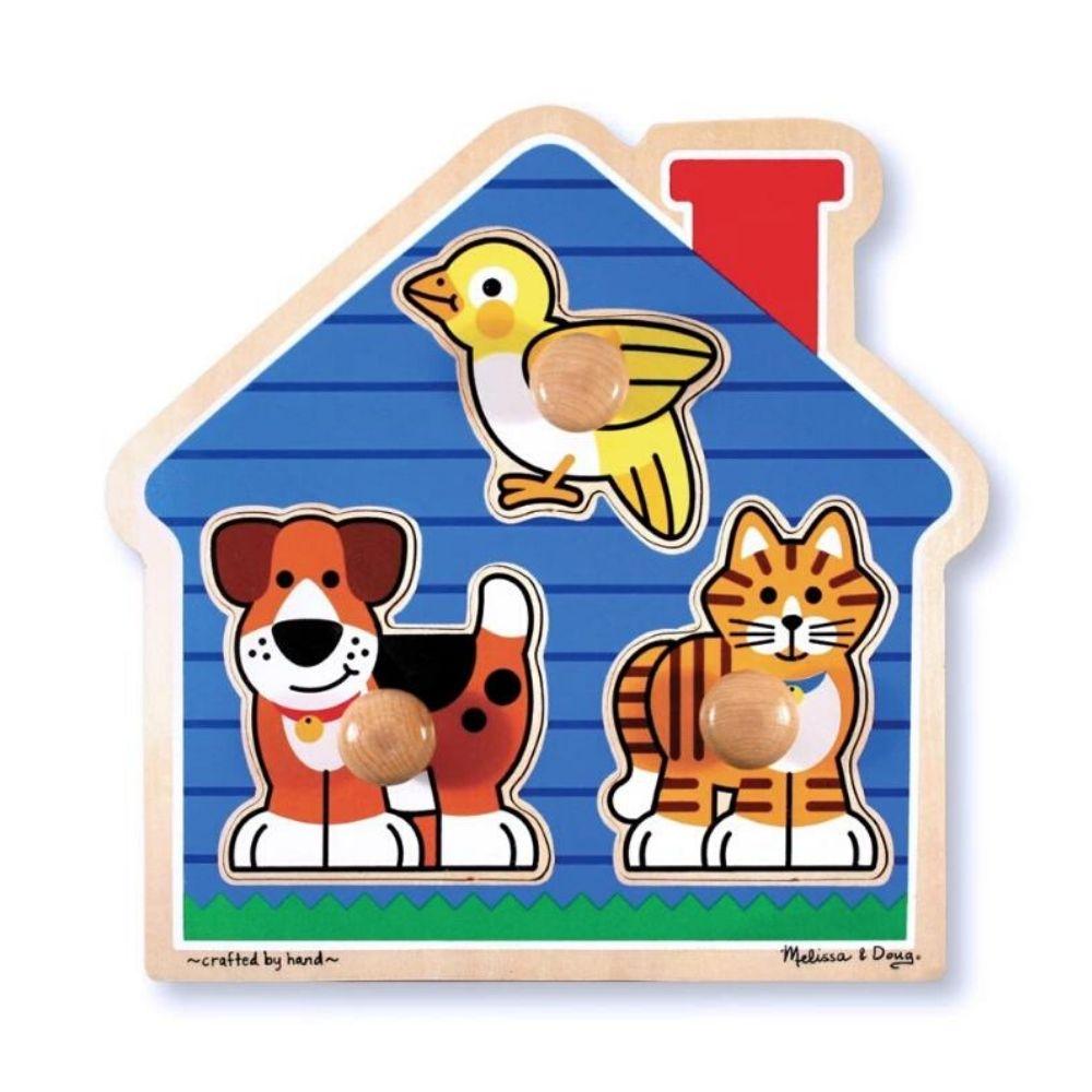 Melissa & Doug House Pets Jumbo Knob