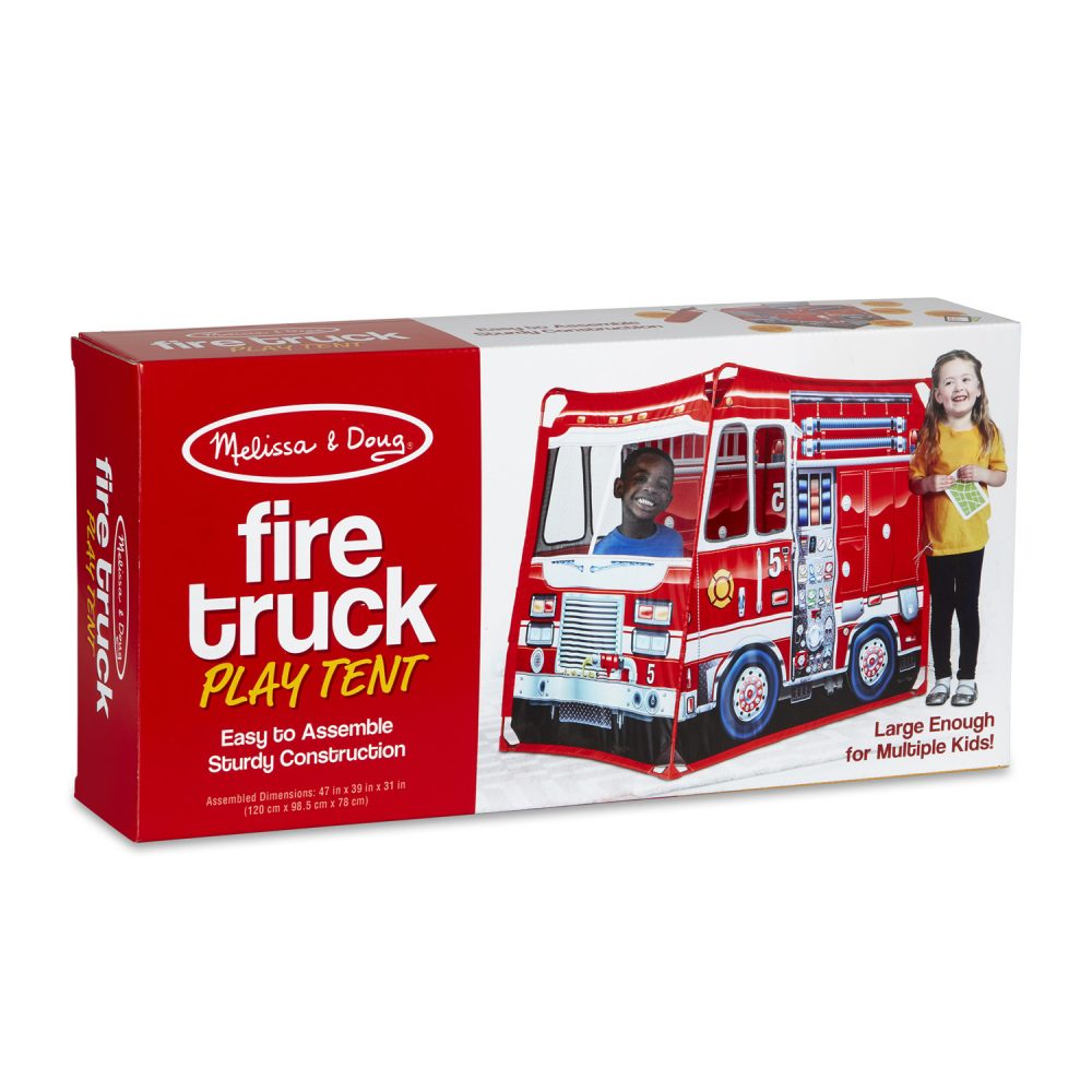 Melissa & Doug Fire Truck Play Set (Fabric)