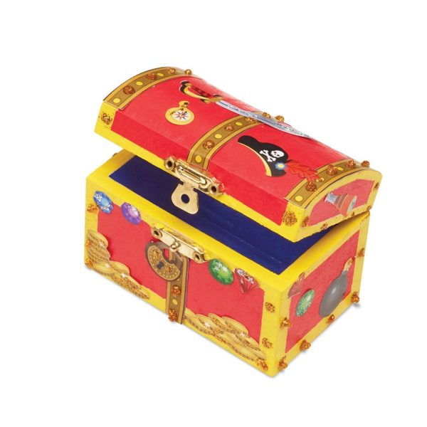 Melissa & Doug Created by Me! Pirate Chest