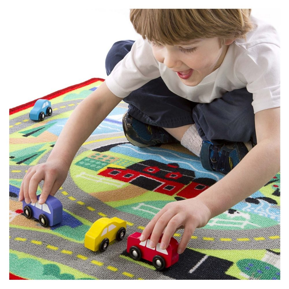 Melissa & Doug Road Rug - 4ft x 3ft