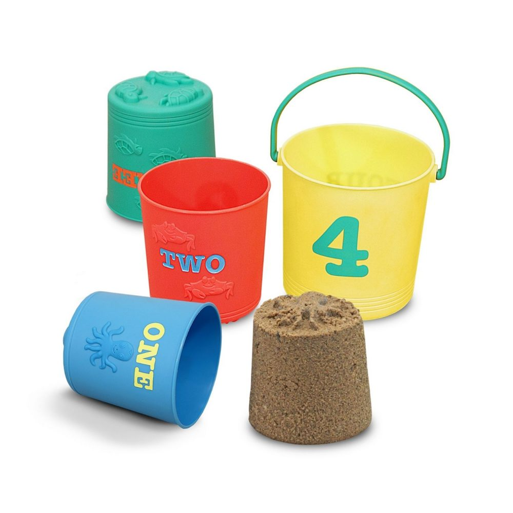 Melissa & Doug Seaside Sidekicks Nesting Pails