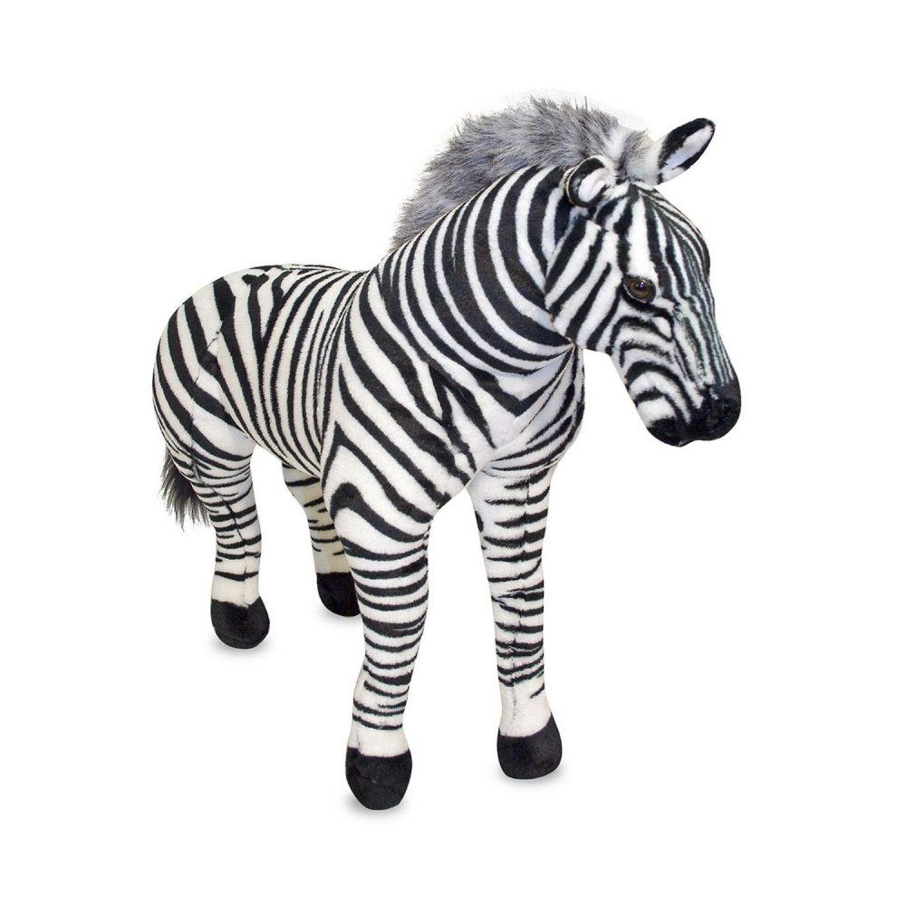 Melissa & Doug Zebra Giant Stuffed Animal