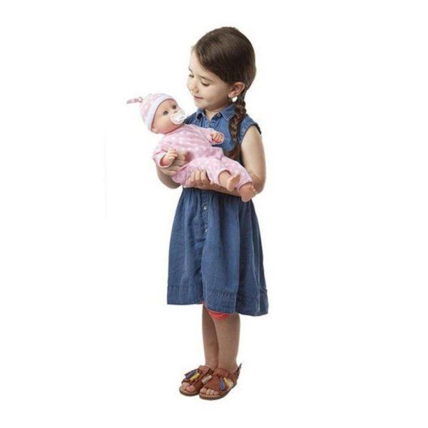 Melissa & Doug Mine to Love Twins Luke & Lucy Dolls