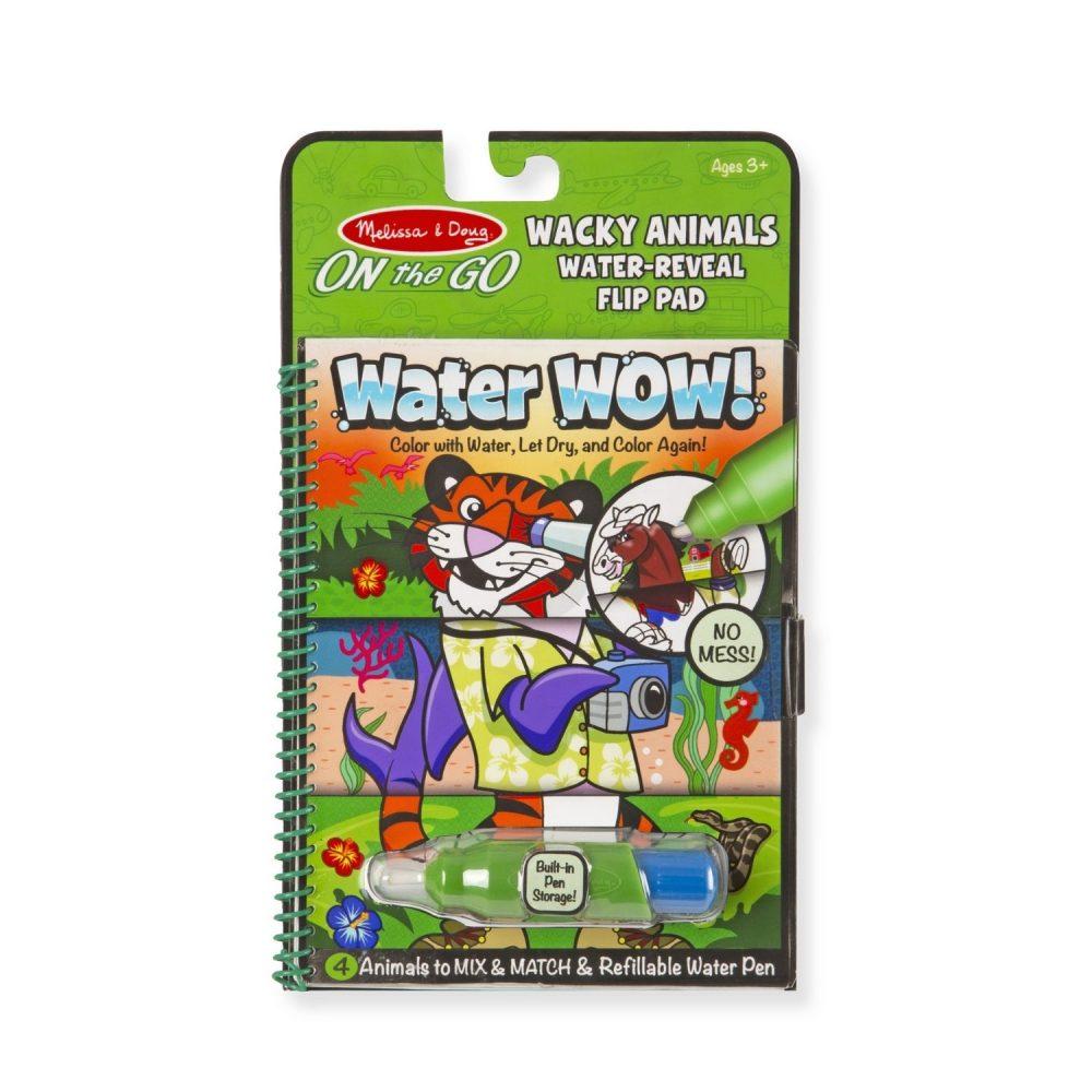 Melissa & Doug Water Wow - Wacky Animals