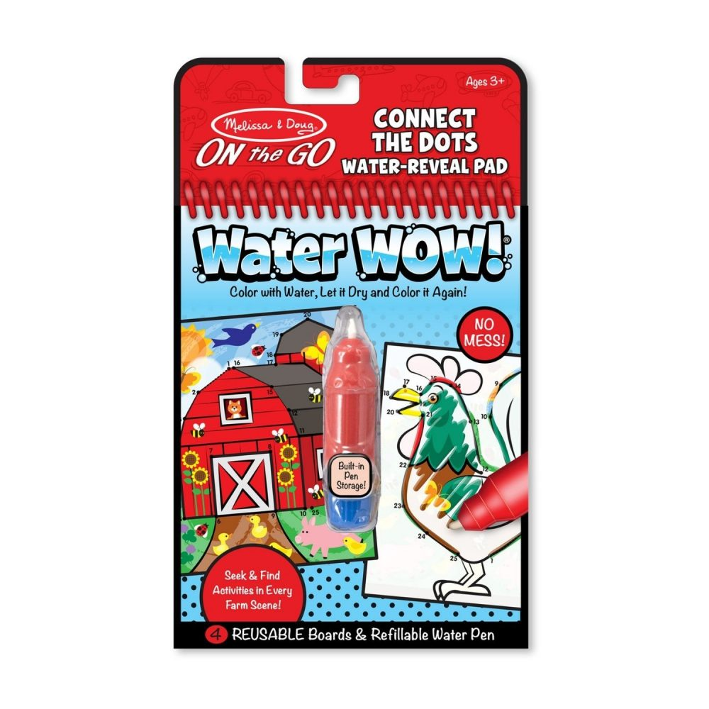 Melissa & Doug Water Wow! Connect The Dots Farm